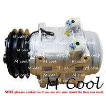 AC Compressor Fittings For TM31 2 Groove 12 Volt CO46530V 6512338 7512338 C2155 5900 48846530 10046530 2046530 2521212