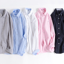 95% Cotton Plus Size Men Dress Shirt Spring Autumn Long Sleeve Social Shirts Business Casual Mens Slim Camisa youth