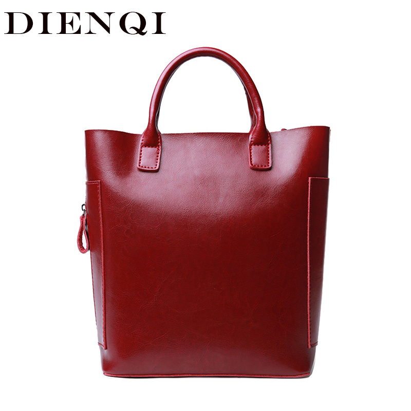 DIENQI high quality genuine leather female bag red women leather handbag ladies small messenger crossbody bags bag for women New dienqi genuine leather handbag women shoulder bag high quality big messenger crossbody bags female large tote ladies hand bags