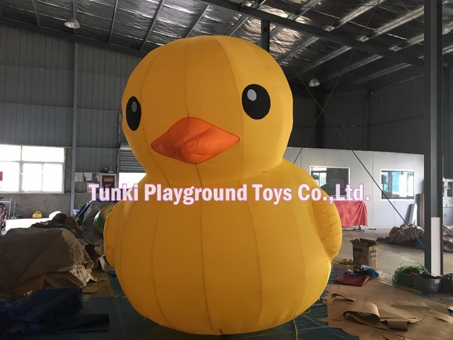 3 meters Yellow Giant Inflatable Promotion Duck-in Playground from ...