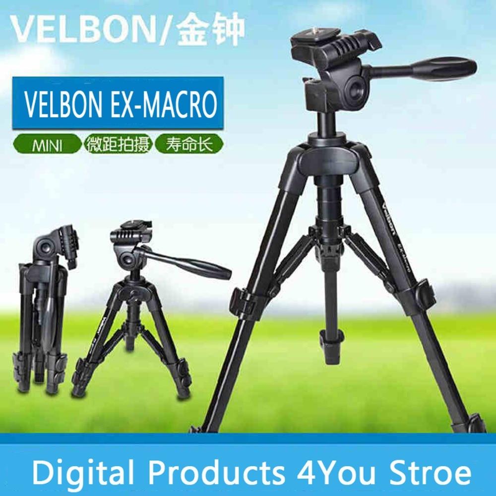Velbon EX-MACRO Caméra trépied Kit mini Trépied/poids léger Trépied et trépied tête