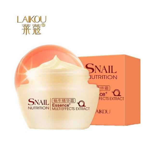LAIKOU Gesicht Pflege Creme Koreanischen Schnecke Weiß Creme Feuchtigkeits Anti-Aging Akne Anti Falten Tag Creme