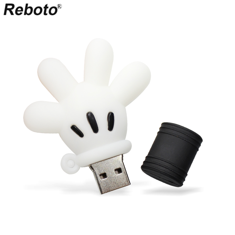 Kepmem Cute USB3.0 Flash Drive 8GB Cartoon Series Funny Pendrive Small Santa Claus Gift