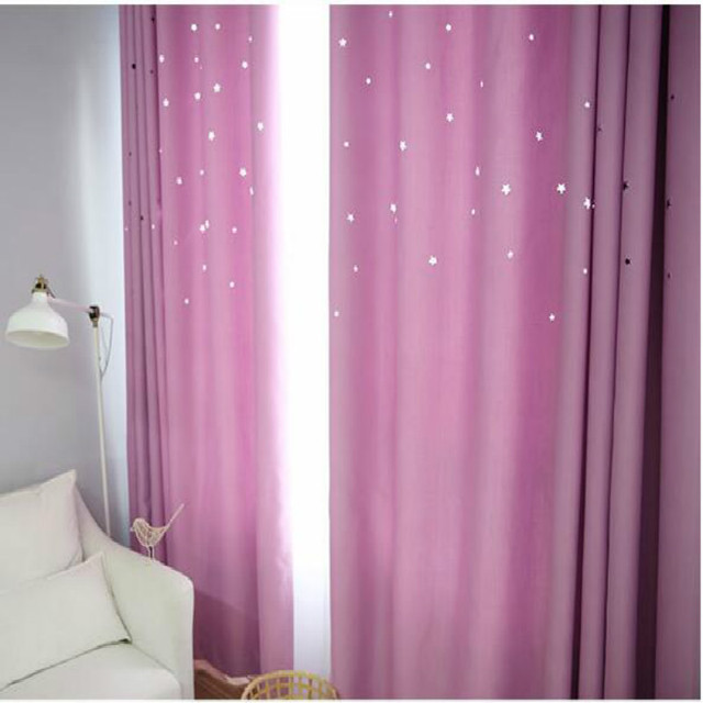 5 Colors Hollow Curtains for Living Room Modern Bedroom Decorations ...