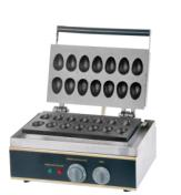Stainless Steel Electric 14Holes  Egg Cake Machine Egg-Making machine stainless steel axle sleeve china shen zhen city cnc machine manufacture