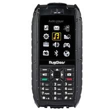 RugGear RG128 – waterproof phone – floatable phone (Black)
