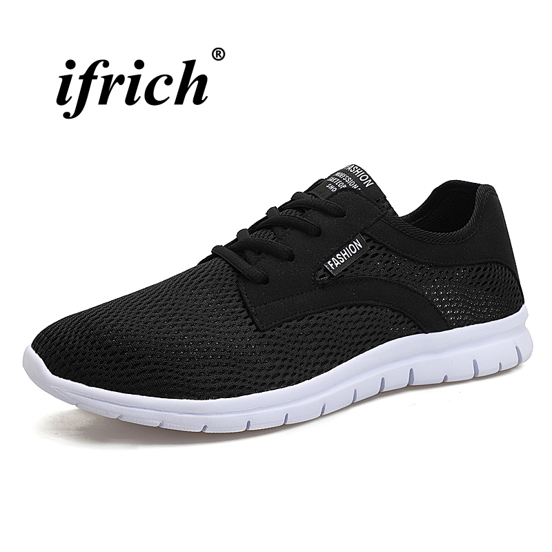 Man Running Shoes Spring Summer Sports Shoes for Male Large Size 39-48 Sneakers Male Black Gray Breathable Man Walking Shoes