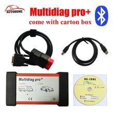 2015. r3 Nuevo diseño TCS CDP PRO CAR + TRUCK multidiag Pro Plus con Bluetooth vienen con la caja de cartón con el envío de poste de china!