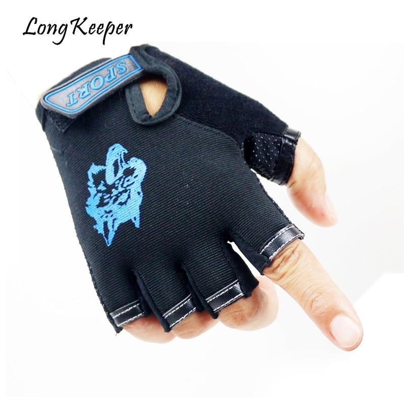 Cool Sports Kinder Handschuhe Wolf Print Outdoor-reithandschuhe 2018 Heißer Verkauf Anti-rutsch-atmungs Fäustlinge Für 5-13 Jahre Kinder