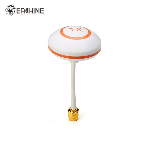 Original Eachine Racer 250 Drone Spare Part Mushroom Antenna RP-SMA RP SMA Male for FPV Racing Drone Quadcioter Accessories hot new aomway ant019 5 8 ghz 8 dbi y antenna sma male for fpv racing drone for rc multirotor fpv system spare parts accessories