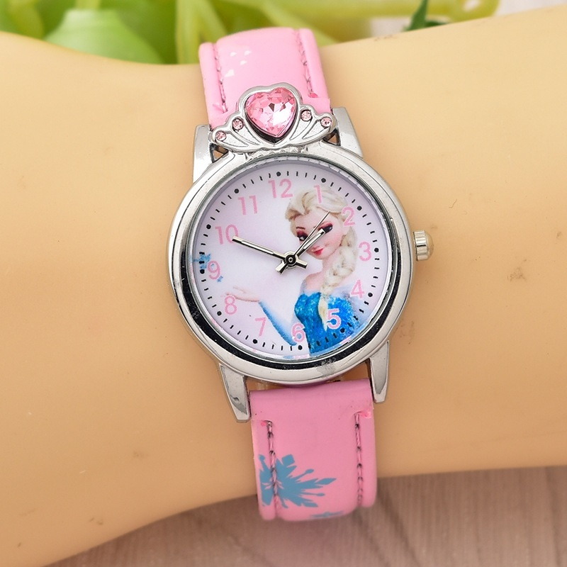 Children Quartz Sport Cartoon Watches Princess Kids Watches For Girls Christmas Gift Montre Enfant Relogio Infantil