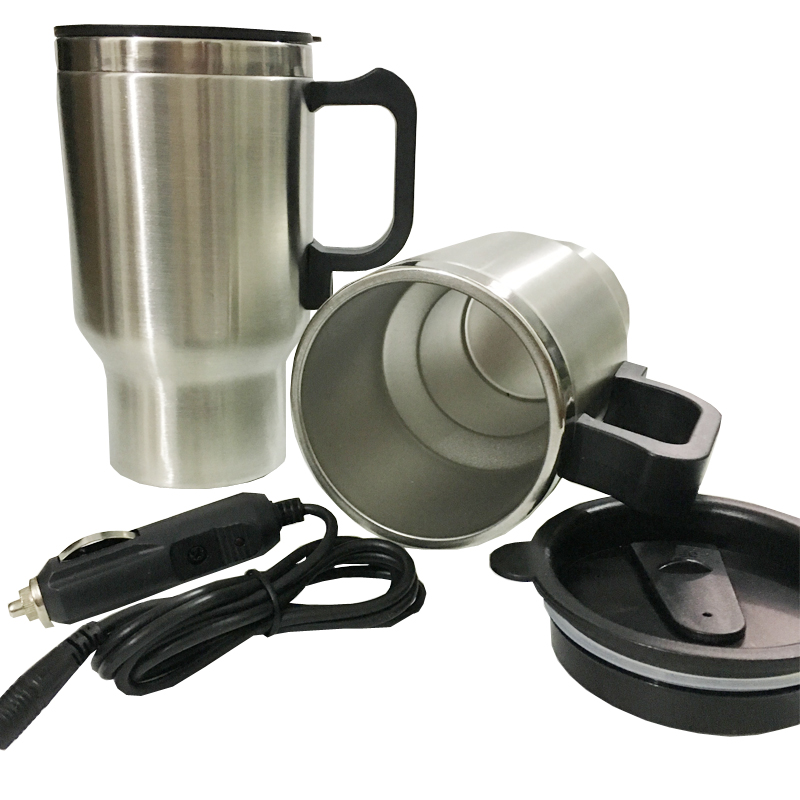 12v Car Heating Cup Electric Kettle Cars Thermal Heater