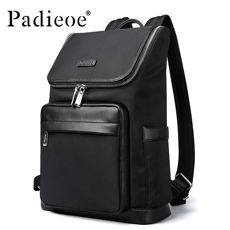 Padieoe Fashion Nylon Men Backpacks Casual School Backpack Travel Laptop Bag new fashion backpack women backpacks men s travel bags casual backpack men laptop backpacks luxury designer men s school bag