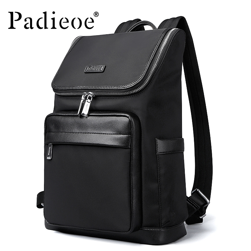 Padieoe Fashion Nylon font b Men b font Backpacks Casual School Backpack Travel Laptop font b
