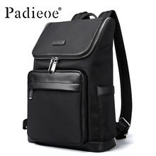 Padieoe Fashion Nylon Men Backpacks Casual School Backpack Travel Laptop Bag
