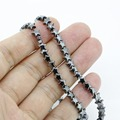 6.0MM DIY Jewel Making Beads Hematite Star Loose Beads