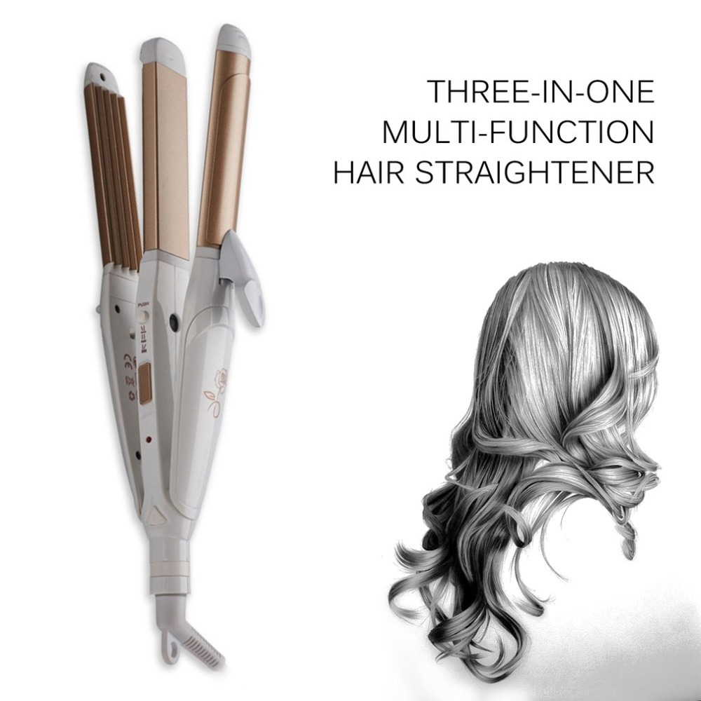 3 In 1 Multifunctional Hair Straightener Hair