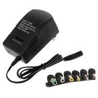Универсальный стандарт США зарядное устройство AC/DC адаптеры для сим-карт 3 в 4,5 в 5 в 6 в 7,5 в 9V 12V 3A Регулируемый Напряжение с 6 стандартный выхо...