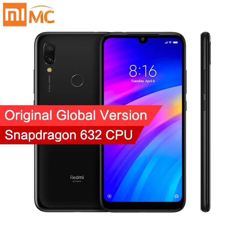 Global Version Xiaomi Redmi 7 Smartphone 2GB RAM 16GB ROM Snapdragon 632 Octa Core 12MP AI