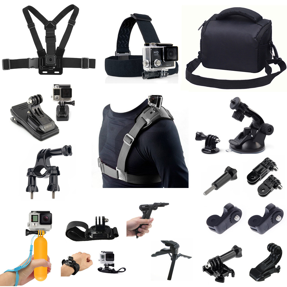 Outdoor Sport Accessories Kit For Sony X1000 X3000 AS300 AS50 AS30 AS20 AS15 AS10 AS100 AS200 RX0 II AZ1 Mini POV Action Camera