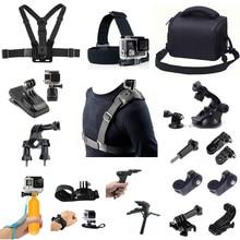 Kit de accesorios para deportes al aire libre, para Sony X1000 X3000 AS300 AS50 AS30 AS20 AS15 AS10 AS100 AS200 RX0 AZ1 Gopro Hero Mount Cámara