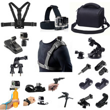 Outdoor Sport Accessories Kit for Sony X1000 X3000 AS300 AS50 AS30 AS20 AS15 AS10 AS100 AS200 RX0 AZ1 Gopro Hero Action Camera