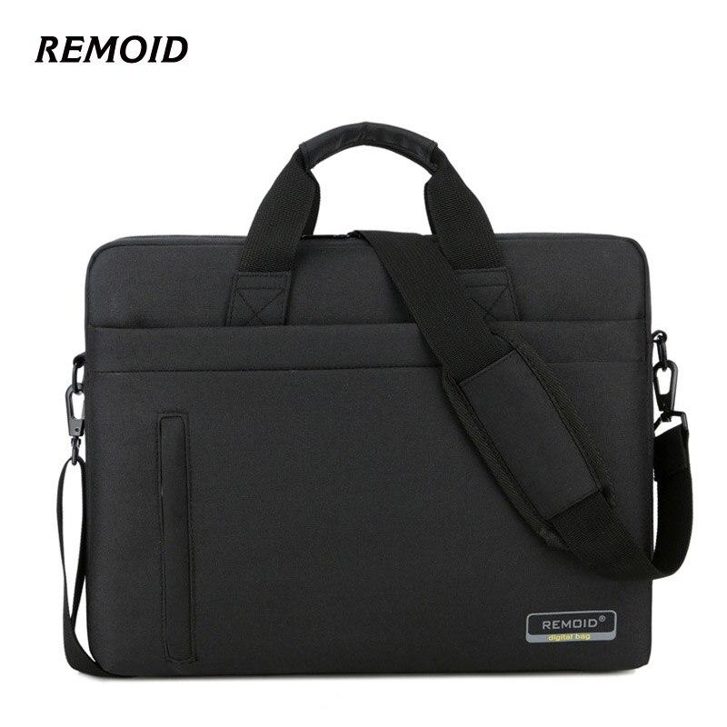 Remoid Notebook bag17 15.6 15 14 13.3 13 inch Waterproof shoulder men women computer bag 2018 new Fashion handbag Messenger Bag