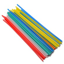 50pcs New Plastic Welding Rods 5 Color Welder Sticks with Corrosion Resistance Blue/White/Yellow/Red/Green