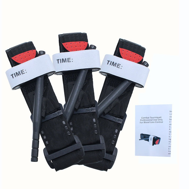 Portable Tourniquet Strap First Aid Quick Slow Release Buckle Medical Military Tactical One Hand Emergency Tourniquet Strap