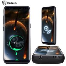 BASEUS Ładowarka Case Do Samsung Galaxy S8/S8 Plus 5000/5500 mAh Baterii Skrzynki Pokrywa Zewnętrzna Plecak moc Przypadku Banku