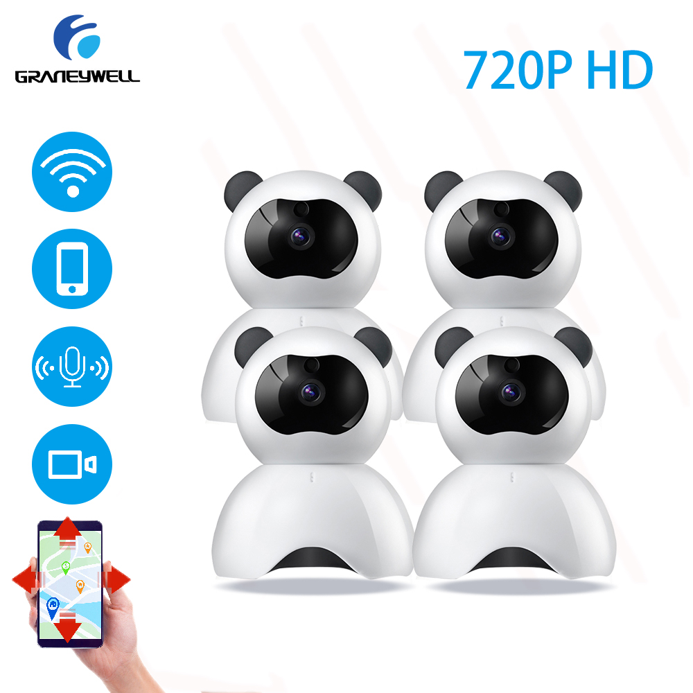 4 PCS Wireless IP Camera 720P HD P2P Motion Detection Night Vision 36 IR LEDs Home Security Camera Surveillance IP Cam