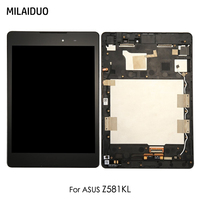 LCD Display For ASUS ZenPad 3 Z581KL Touch Screen Panel Digitizer Tablet Full Assembly Black with Frame Replacement 7.9 inch