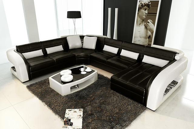 Hot home furniture,European Style Sofa modern corner sofa set ...