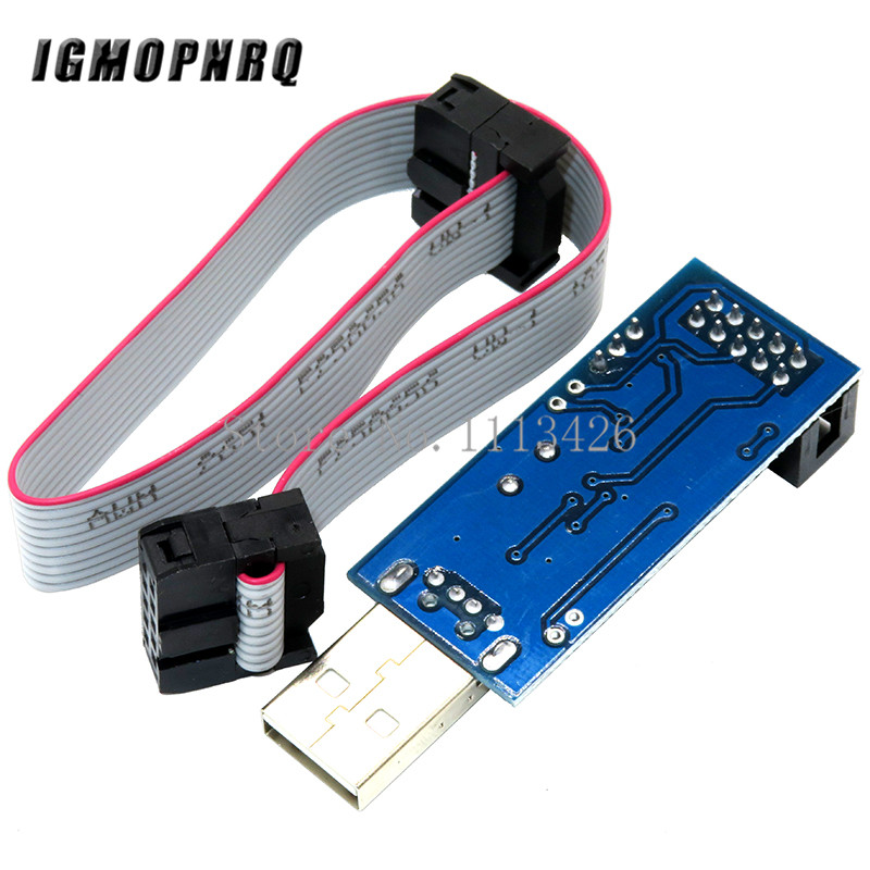 Image 2 - 1pcs USBASP USBISP AVR Programmer USB ISP USB ASP ATMEGA8 ATMEGA128 Support Win7 64K-in Integrated Circuits from Electronic Components & Supplies