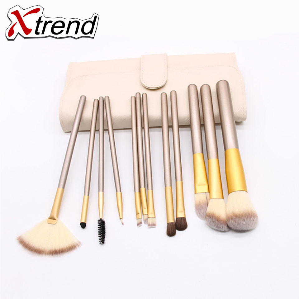 New Brand Makeup Brushes With Beautiful Fresh Synthetic Hair Set Kits 12/18/24pcs Health ...