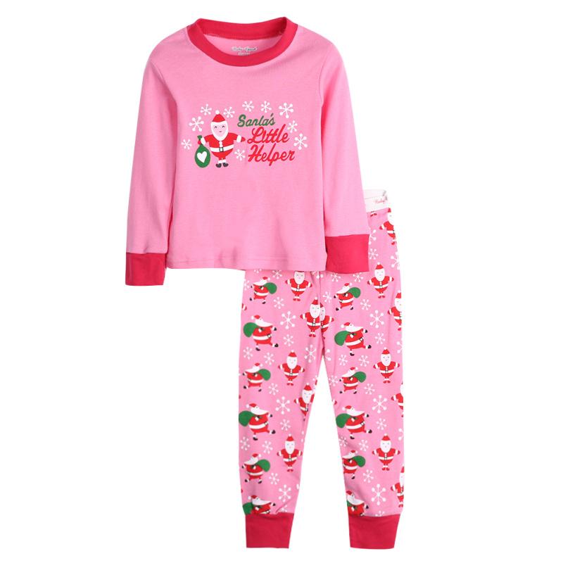 primavera otoo navidad nios nios nias camisetas de manga larga pantalones pijama caliente unids