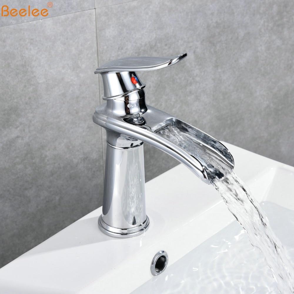 Beelee Bathroom Basin Faucets Chrome&ORB Single Holder Single Hole Basin Mixer Tap BL6775Beelee Bathroom Basin Faucets Chrome&ORB Single Holder Single Hole Basin Mixer Tap BL6775