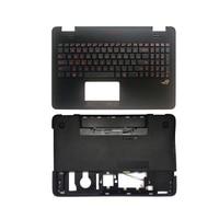 US backlit laptop keyboard for Asus G551 G551J G551JK G551JM G551JW G551JX G551VW G551V Palmrest Upper case/Bottom case cover