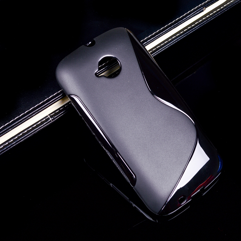 Soft S Line TPU Mobile Phone Cases For Motorola Moto E2 E+1 E 2nd Gen. XT1505 XT1511 XT1524 XT1527 4.5 inch Ultra Thin Silicon