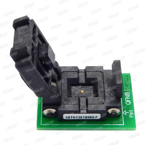 Image 5 - QFN8 to DIP8 Programmer Adapter WSON8 DFN8 MLF8 to DIP8 socket for 25xxx 6x5 3x2 8x6mm Pitch=1.27mm