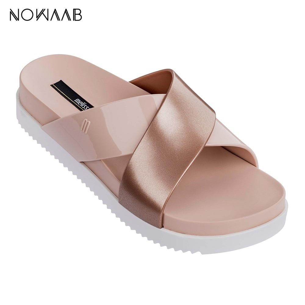 Melissa Cosmic II 2019 Women Jelly Sandals Melissa Adulto Shoes For Women Jelly Sandals Female Jelly Shoes Mulher Flip Flop
