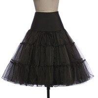 High Quality Hot Petticoat Vintage Petticoats Short Ruffled Retro Crinoline Underskirt Swing Pin Up Rockabilly Petticoat
