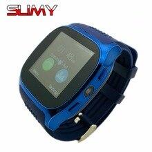 Viscoso T8 Bluetooth Inteligente Telefone Do Relógio para Homens Mulheres Crianças Smartwatch SIM Suporte/TF Câmera Touch GPS Relógios Horas para Android IOS