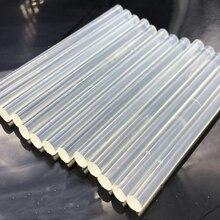10 шт./компл. 7 мм термоплавкий клей-карандаш для тепловой пистолет клей 7x100 мм Высокая вязкость клея клей-карандаш набор инструментов для ремонта DIY ручной инструмент