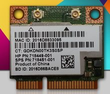Новая беспроводная Wi-Fi-карта SSEA Bluetooth 2,4 для HP Broadcom BCM943228HMB Half MINI PCI-E 718451G/5Ghz 802.11b/G/N SPS-001