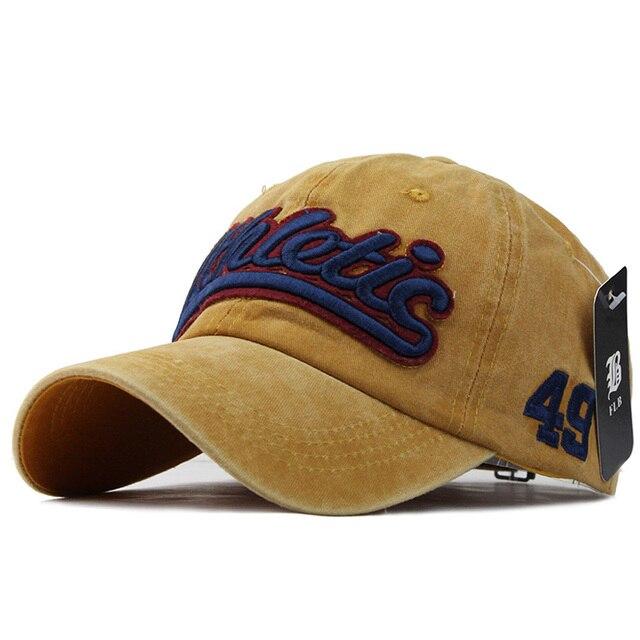 100% Washed Denim Baseball cap  2