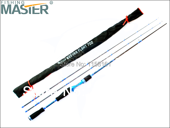 Free shipping By EMS/UPS 2.1 meters spining carbon rod double polders M ML 2 tips casting luxurious