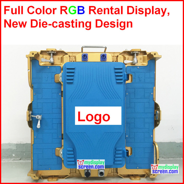 P3 HD rental die casting aluminum high clear led display,576mm * 576mm, 192*192 pixel,9.5kg,color customized,easy install