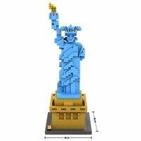 2017 World Famous Architecture Statue Of Liberty New York America USA United States Mini Diamond Building