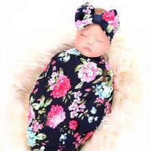 Новинка г.; одежда для фотосъемки новорожденных с цветочным рисунком; одеяла для новорожденных; мягкие эластичные одеяла из молочного шелка для новорожденных; детское ежемесячное одеяло